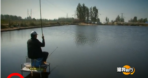 四海钓鱼频道视频221化老师钓黑坑(二)